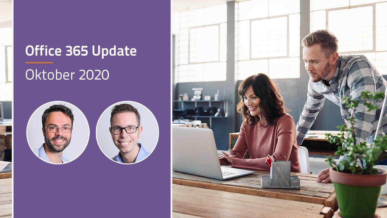 Video Microsoft Office 365 update - oktober 2020