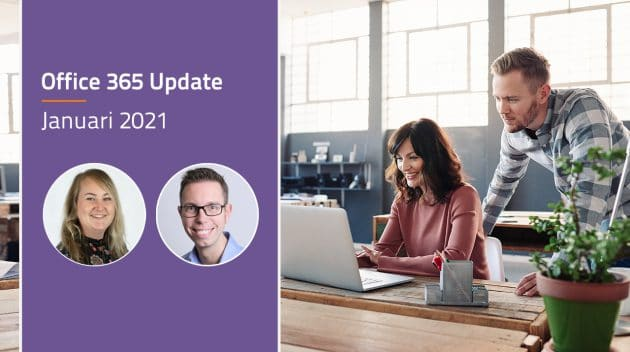 Video Microsoft 365 update - januari 2021