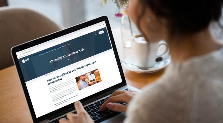 Website WSB security awarenes actie