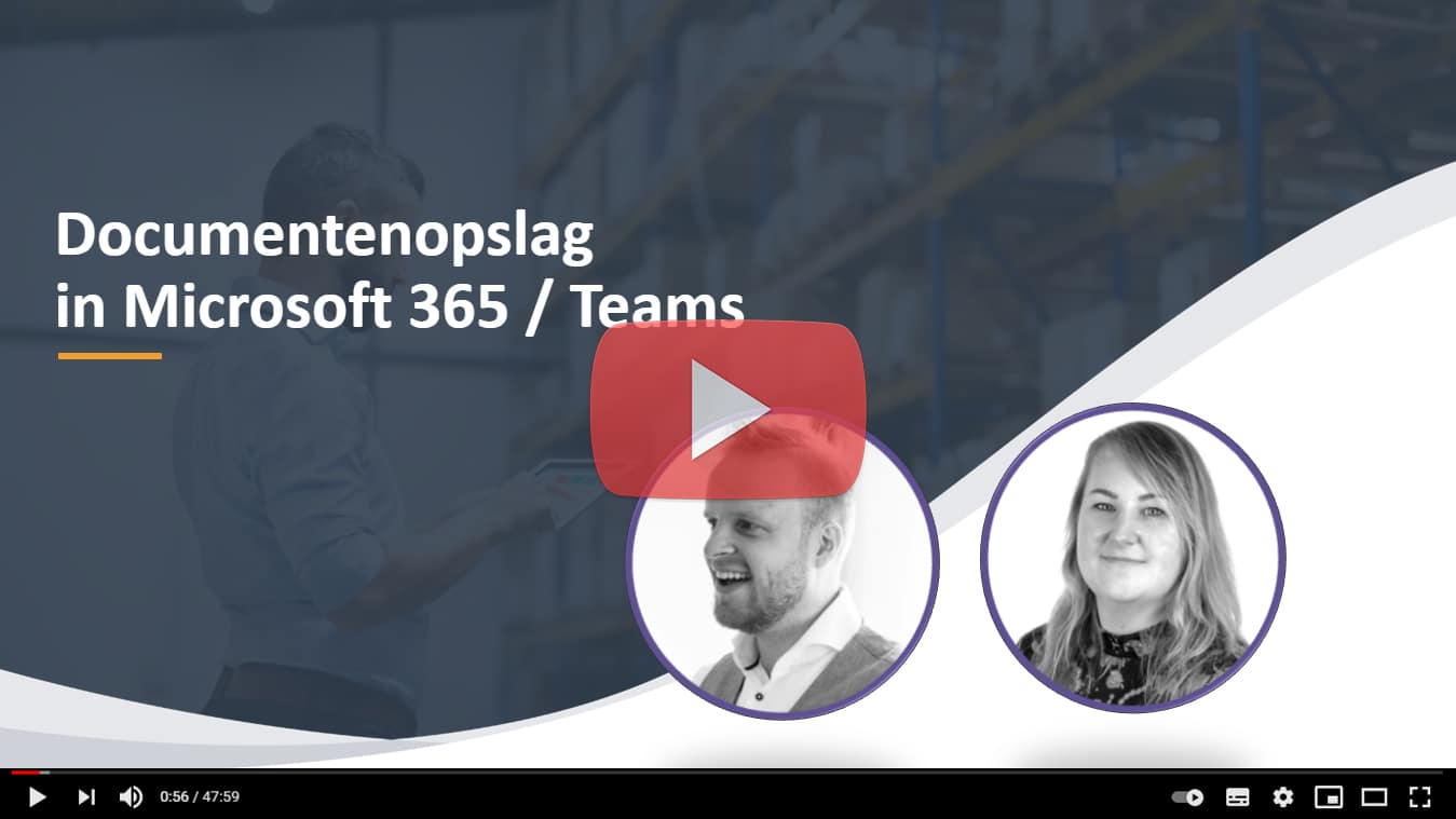 video documentopslag microsoft 365 teams
