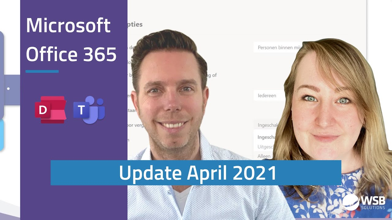 video Office 365 update april 202