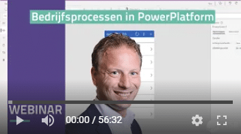 video webinar bedrijfsprocessen in Power Platfrom
