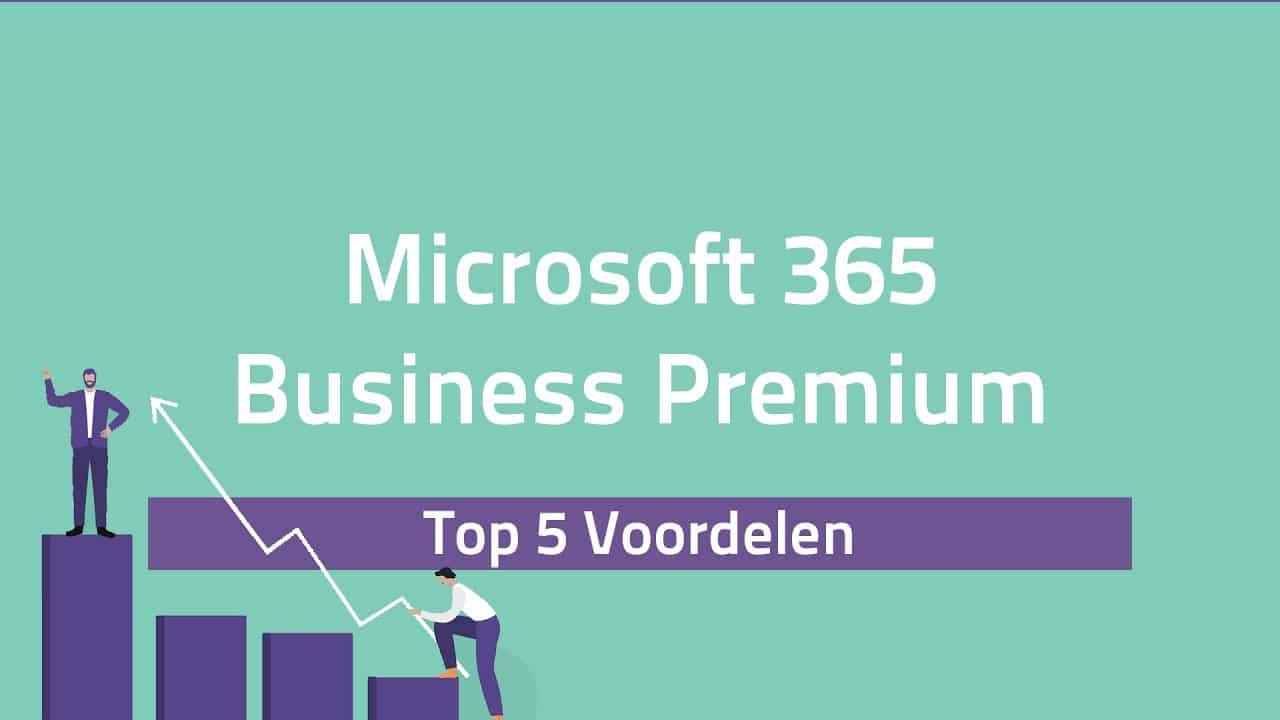 video top 5 voordelen Microsoft 365