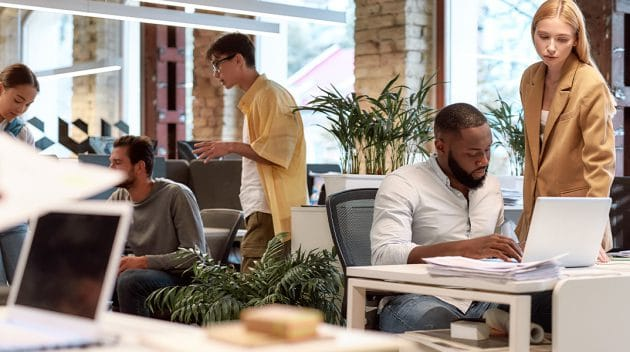 transitie naar moderne werkplek